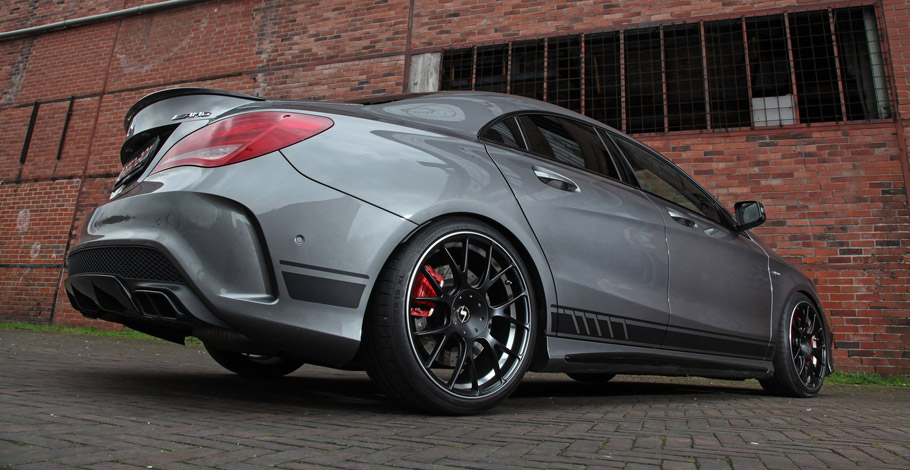 SCHMIDT Revolution Mercedes-AMG CLA 45 rear view