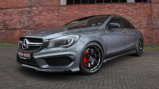 terrific mercedes-amg cla 45 brought to perfection thanks to schmidt revolution