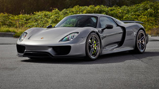 Porsche 918 Spyder looks meaner with set of attractive new wheels