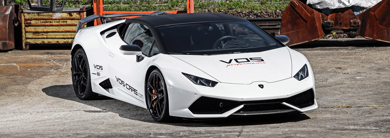 VOS Performance Lamborghini Huracan Final Edition front view