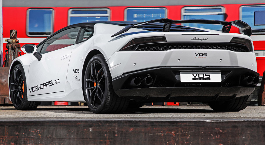 VOS Performance Lamborghini Huracan Final Edition rear view