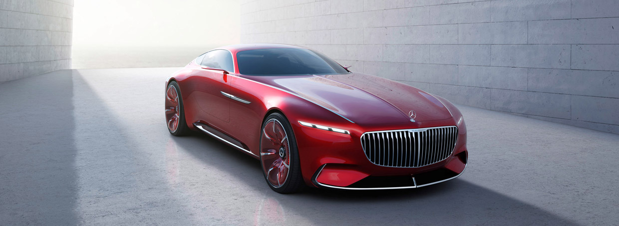 Vision Mercedes-Maybach6 front view