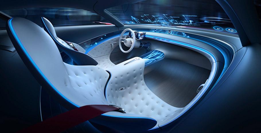 Vision Mercedes-Maybach6 Interior