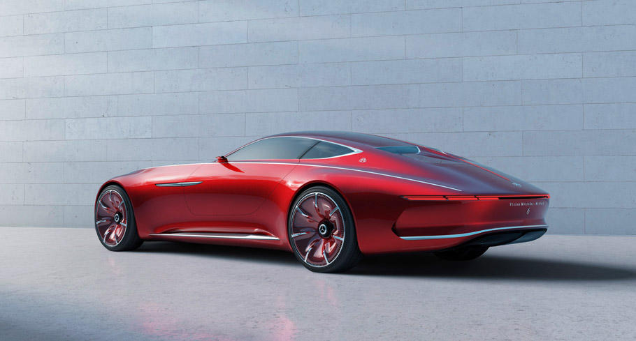 Vision Mercedes-Maybach6 side view