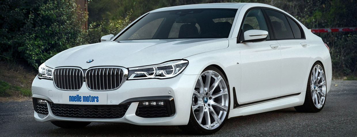 2016 noelle motors BMW 750i G11 front view