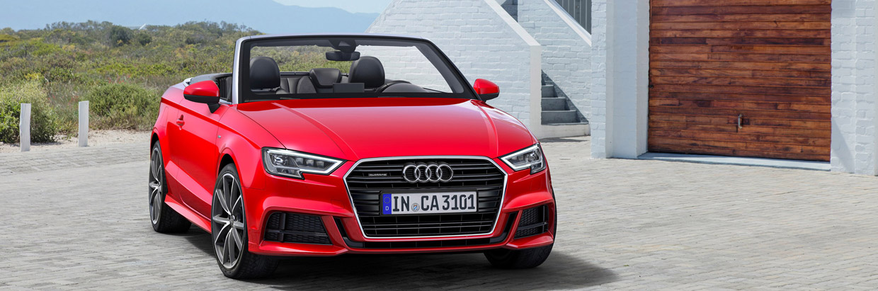 2017 Audi A3 cabriolet front view