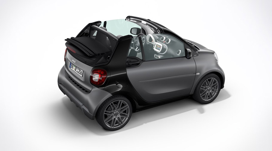 2017 BRABUS Sport Package mini fortwo