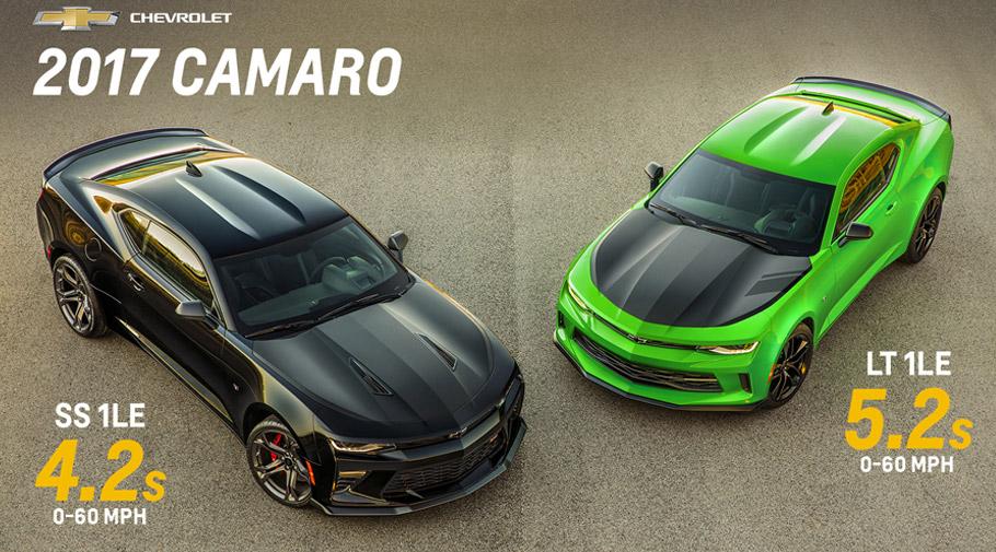 2017 Chevrolet Camaro models