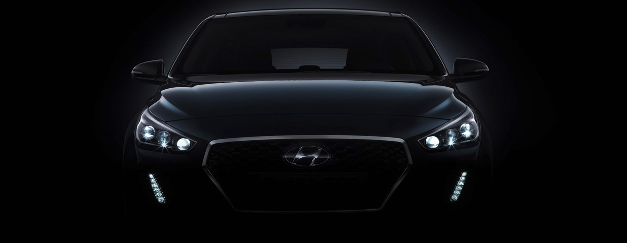 Hyundai i30 front view - teaser