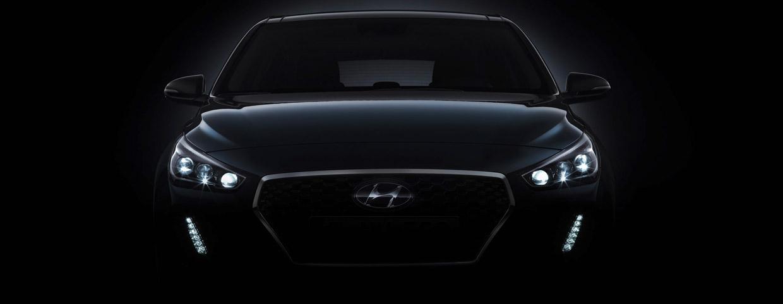 Hyundai i30 front view - teaser