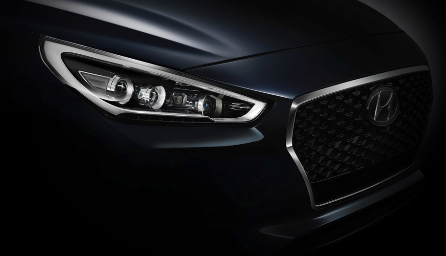 Hyindai i30 headlights - teaser