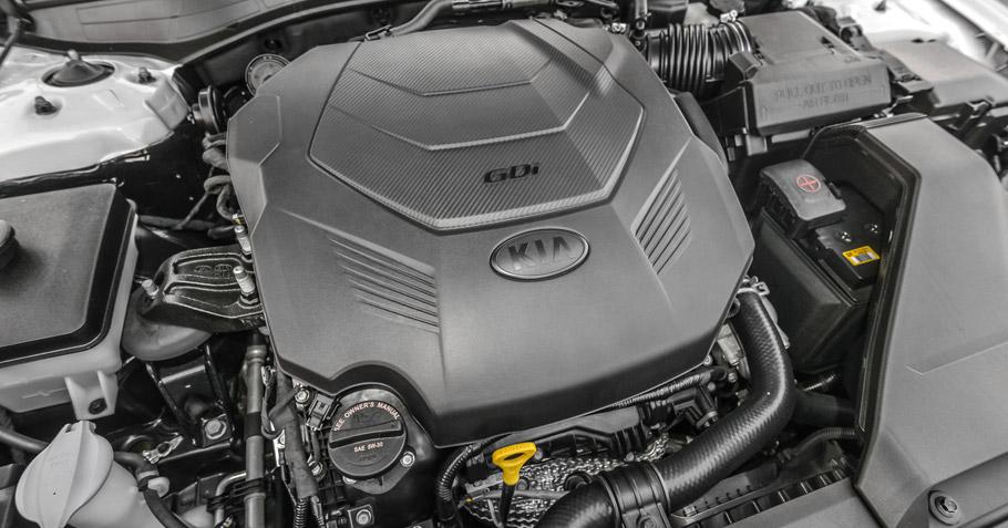 2017 Kia Cadenza SXL Engine