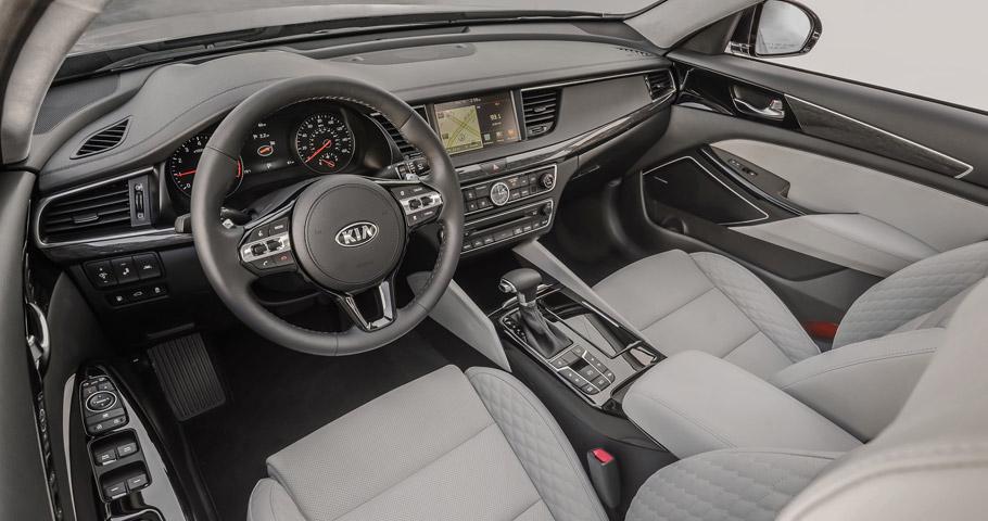 2017 Kia Cadenza SXL Interior