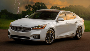 the second generation kia cadenza offers more engaging driving experience and enhanced styling