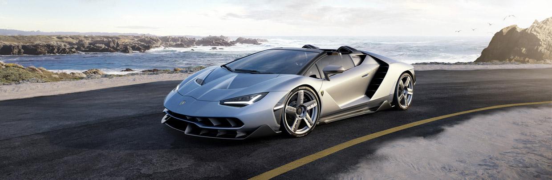 Lamborghini Centenario Roadster front view
