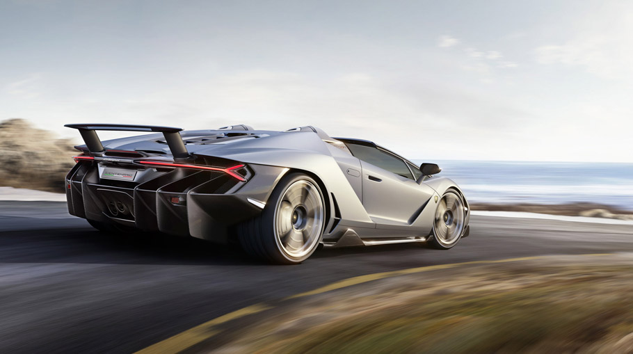 Lamborghini Centenario Roadster rear view