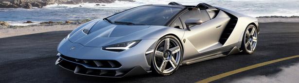 Californian debut for passionate Lamborghini Centenario Roadster