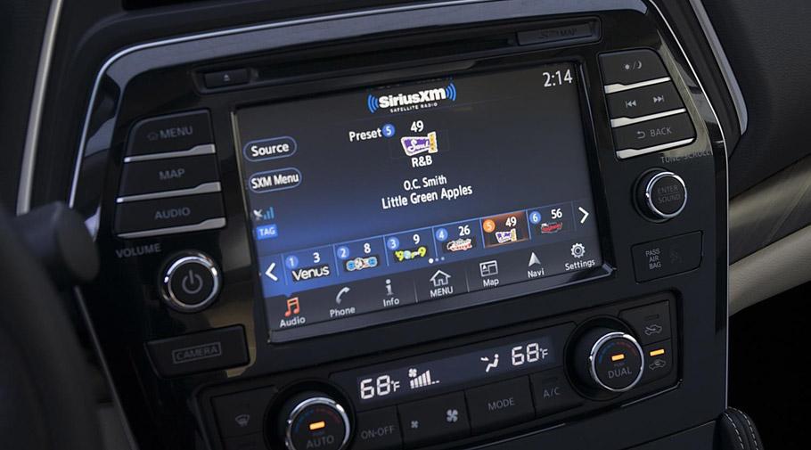 2016 Nissan SiriusXM