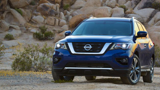 nissan reveals some more goodies for the 2017 pathfinder. check 'em out!