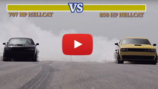 Street Fight Mode: 707 HP Hellcat versus 850 HP Hennessey Hellcat [w/videos]