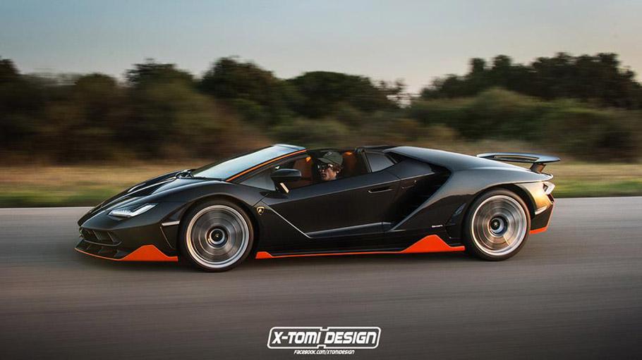 Lamborghini Centenario Roadster by X-TOMI Design