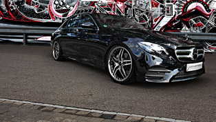 Mercedes E-Class receives special gift from Cor.Speed Performance team!
