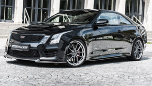 Daring GeigerCars.de project shows us the dark side of Cadillac ATS-V Coupe