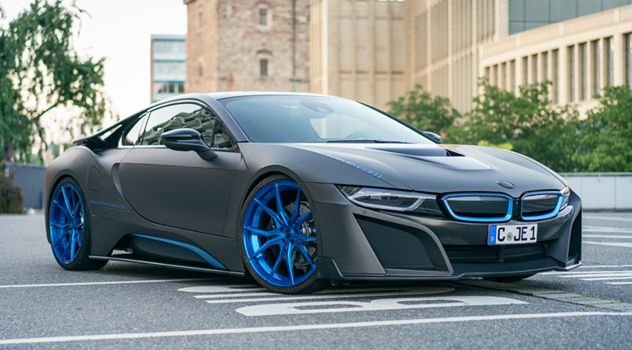 German Special Customs Showcase A Special Bmw I8