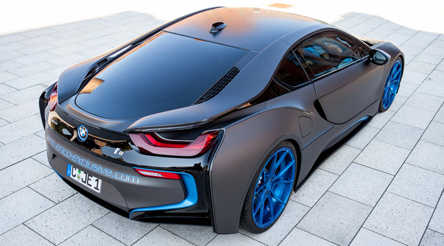 2016 German Special Customs BMW i8