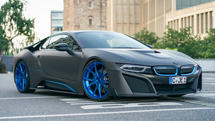 gsc showcases a rather futuristic concept for the bmw i8 model