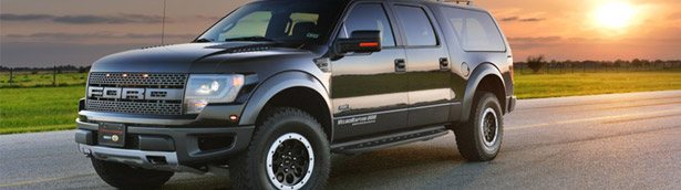 Meet the VelociRaptor: Hennessey's vision over Ford SUVs