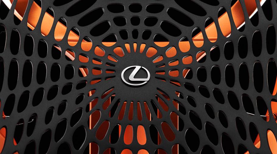 2016 Lexus Kinetic Seat Concept