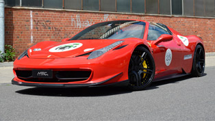 ferrari with a touch of mec design magic: a rather satisfactory result!