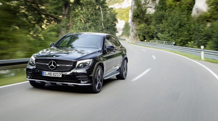 2016 Mercedes-AMG GLC43 Coupe