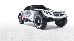peugeot has prepared for the dakar challenge: here's the new sand warrior!