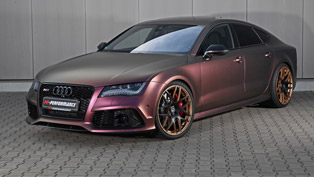 pp-performance audi rs7: fascinating looks and crushing power