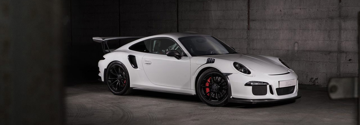 TECHART Porsche GT3 RS side view
