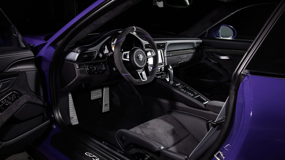 TECHART Porsche GT3 RS interior