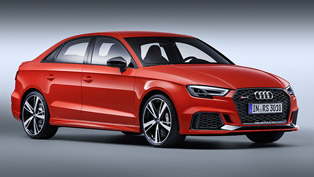 2017 Audi RS 3: it is sporty, elegant and agile. Check it out!