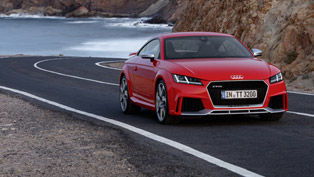 2017 audi tt rs revealed! there are new taillights! how original!