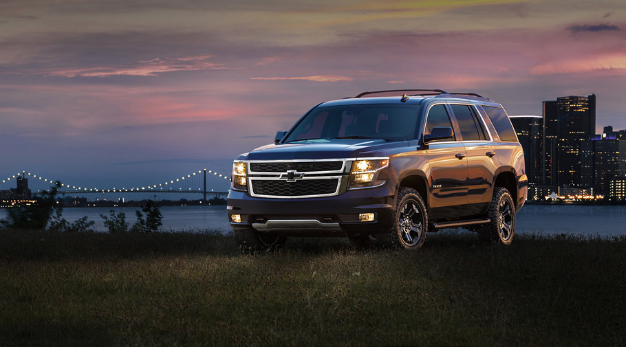 2016 Chevrolet Tahoe and Suburban Blacka Edition Packs