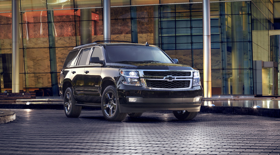 2016 Chevrolet Tahoe and Suburban Blacka Edition Packs 01