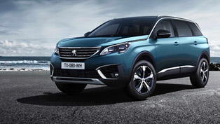 2017 PEUGEOT 5008 SUV: beautiful and promising. Check it out!