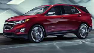 Chevy unveils a new Equinox SUV machine. And it is definitely worth the check!