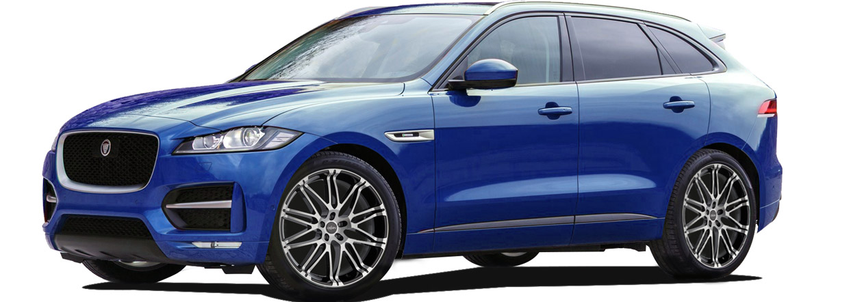 CPA Performance Jaguar F-Pace 20d side view