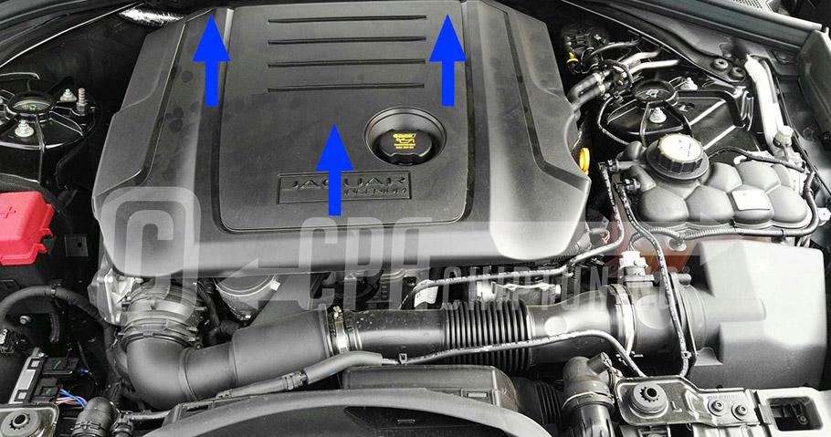 CPA Performance Jaguar F-Pace 20d engine