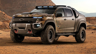 Chevrolet Colorado ZH2: In the Army Now. Menacingly Versatile