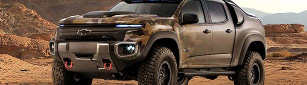 Chevrolet Colorado ZH2: In the Army Now. Menacingly Versatile