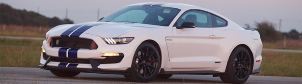 Hennessey Performance Strikes Again. This Time the Lucky Vehicle is Ford Mustang! [VIDEO]
