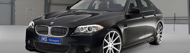 BMW M5 Becomes Even More Appealing. Credits Go To JMS Team!